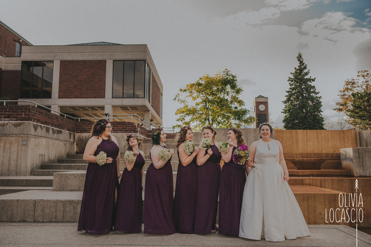 Wisconsin Wedding Photographers - Mead Public Library Sheboygan