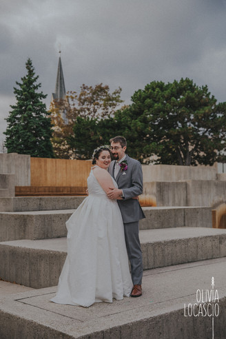 Wisconsin Wedding Photographers - Mead Public Library Wedding