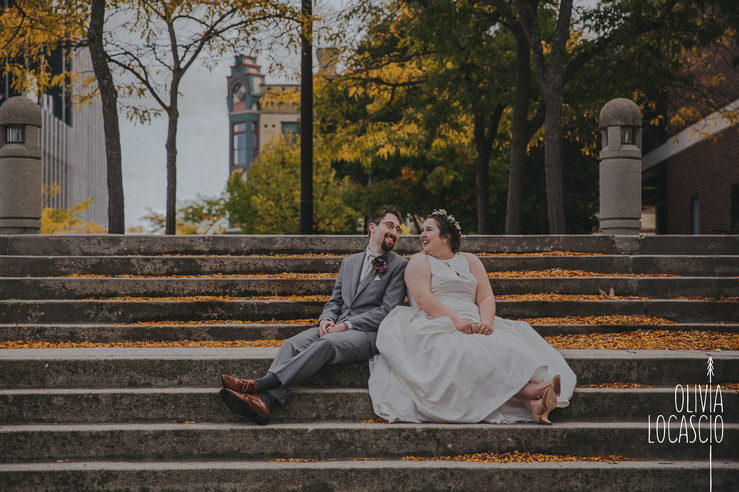 Wisconsin Wedding Photographers - Downtown Sheboygan Wedding Photos