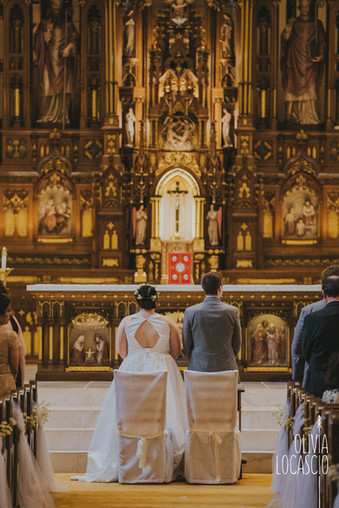 Wisconsin Wedding Photographers - Catholic wedding ceremony