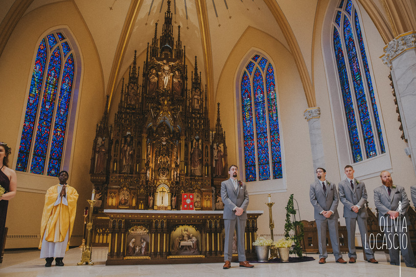 Wisconsin Wedding Photographers - Sheboygan Church Venues