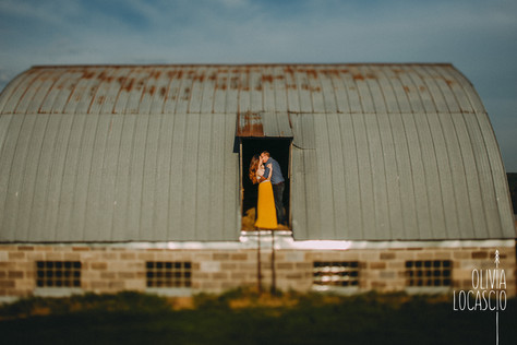Wisconsin Engagement Photographer - Barn Engagement Session
