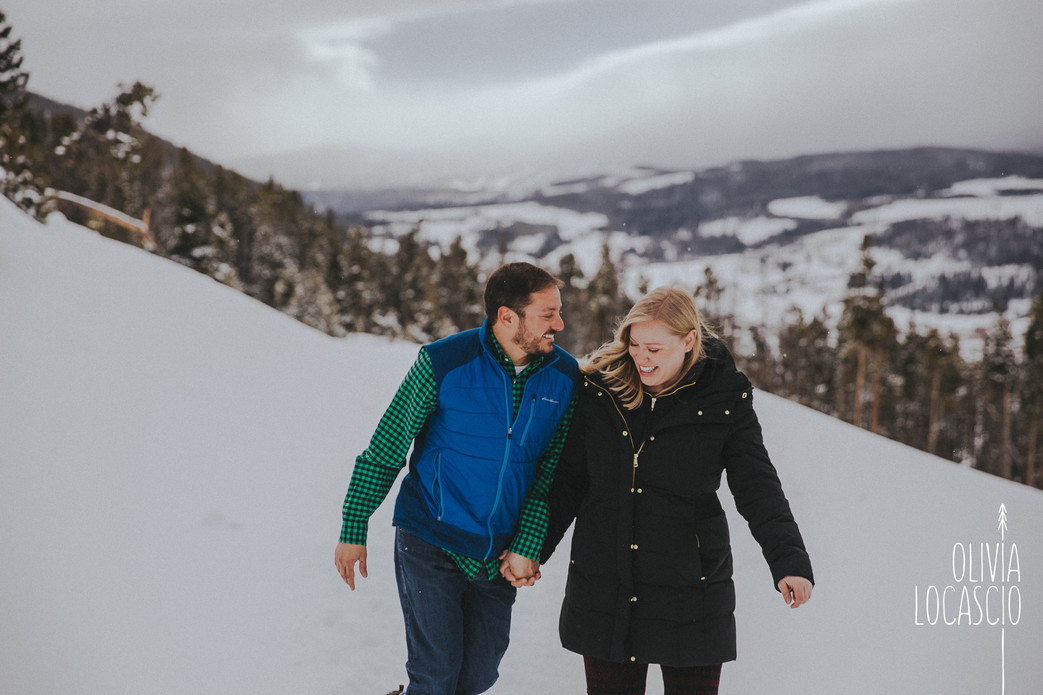 Sapphire Point Engagement Session - Photographers near Breckenridge