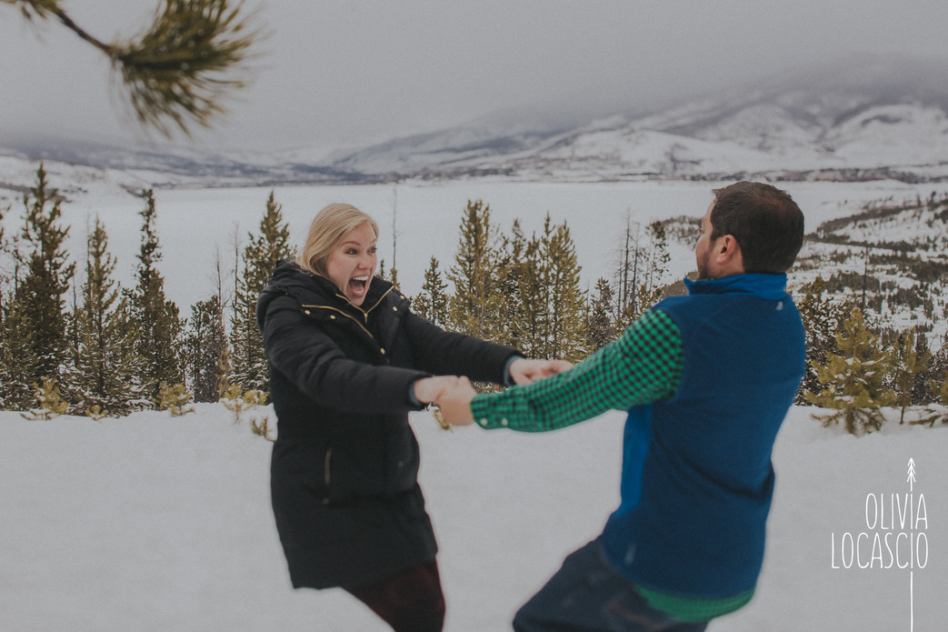 Sapphire Point Engagement Session - Outdoor Wedding Colorado