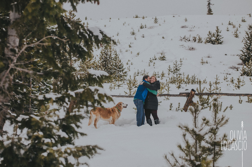 Sapphire Point Engagement Session - Breckenridge Wedding Photographers