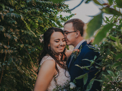 Wildcat Mountain State Park Wedding - Ontario, WI | Kyle & Kaitlyn | Wisconsin Wedding Photographer