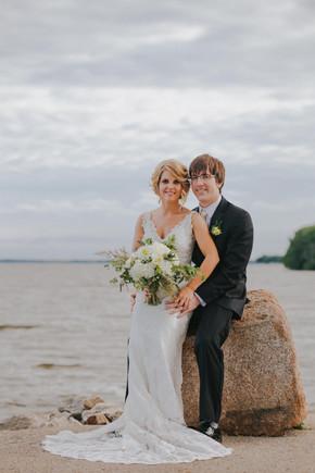 Wedding photos at Asylum Point Oshkosh Wisconsin