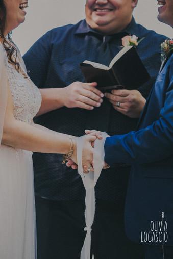 Wisconsin Wedding Photographers - handfasting wedding ceremony