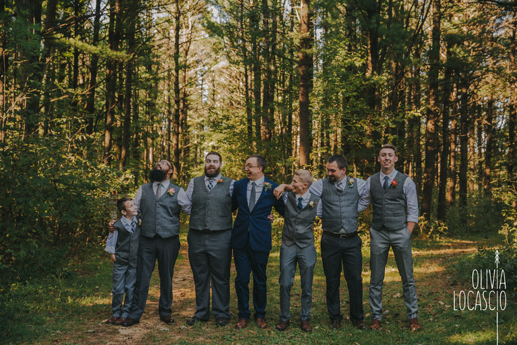 Wisconsin Wedding Photographers - Wisconsin fall wedding colors