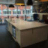 Commercial worktop