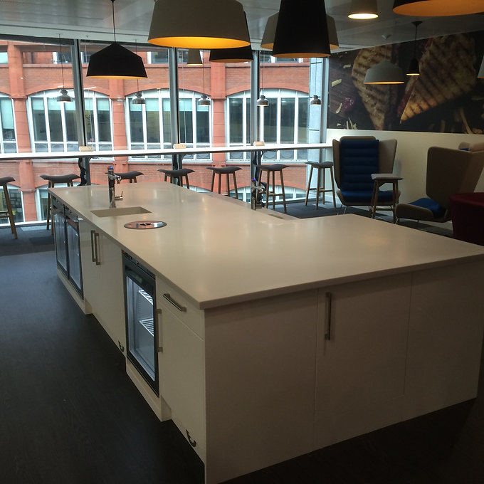 Commercial worktop