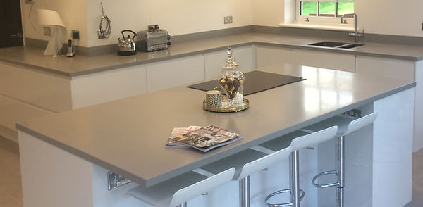 Corian® kitchen worktop
