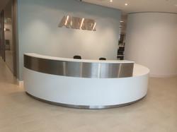 Corian® reception desk