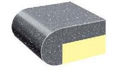 Bullnose trim edge