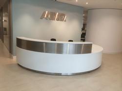 Tradetops reception desk
