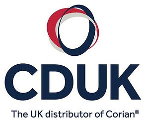 CDUK Corian solid surface logo