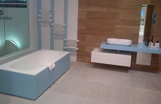 Krion bathroom worktops