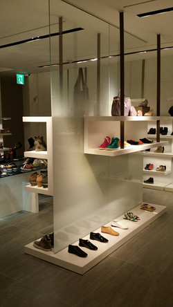 Hanex shop display stand
