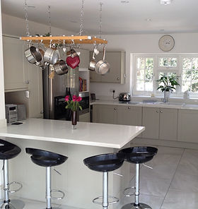 Residential kitchen worktop