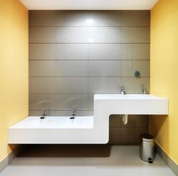 Krion bathroom top