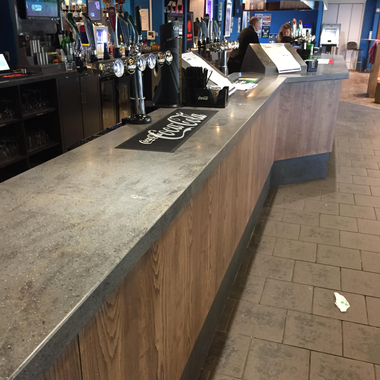 Corian bar worktop