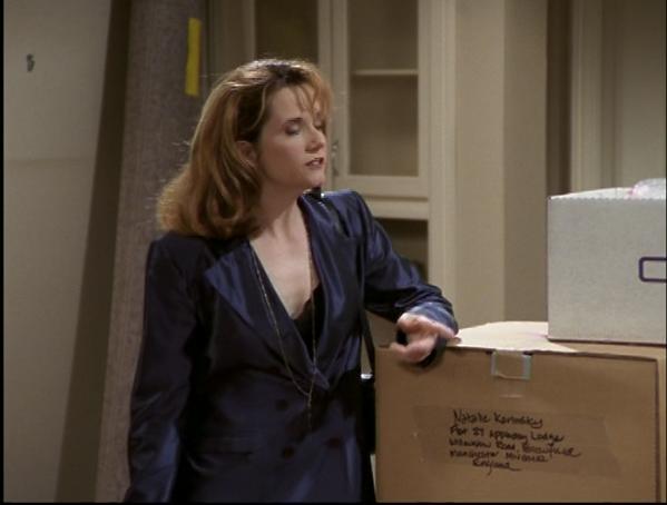 Caroline and box.png