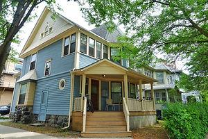 Classic American house in Michigan,USA.,