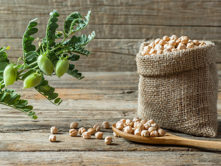 We're thinking chickpeas, beans and lentils! Time for some carbon-busting pulses?