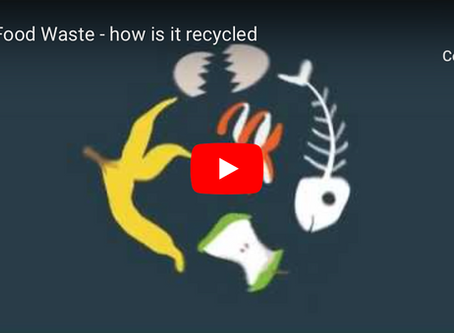 How is food waste recycled?  Recycle Now video