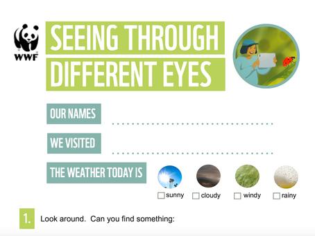 WWF 'Seeing through different eyes' Activity Sheet.