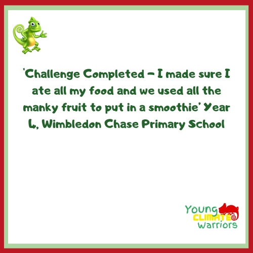 Feedback - Yr 4, Wimbledon Chase Primary