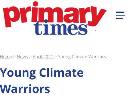 Primary Times - Helping children made a positive difference this Earth Day - 22 April 2021
