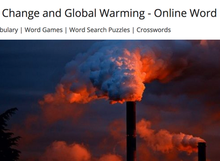 Climate Change - word search