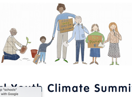 National Youth Climate Summit - Highlights.  Transform Our World. 22 April 2020.