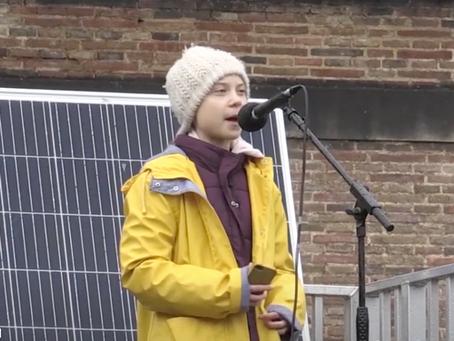 Greta Thunberg's Bristol speech in full.