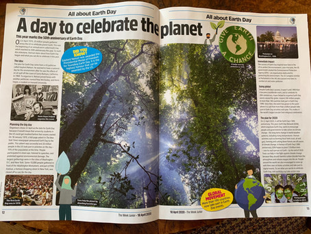 The Week Junior - Earth Day article - 18 April 2020