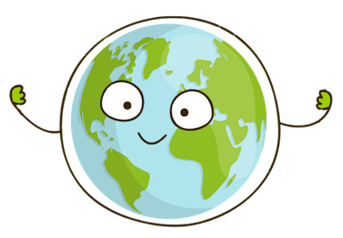 Young Climate Warriors Earth Mascot
