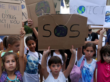 Press builds for schools to put climate change study on curriculum. Reuters. 26 May 2021