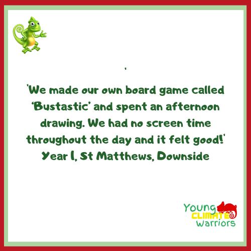Feedback - Yr 1, St Matthews, Downside -