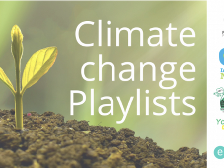 Educational Recording Agency & Young Climate Warriors 'Climate Change 'Primary' playlist. Oct '21.