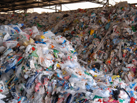Glance up from your screen ... how many things can you see that are made of plastic?