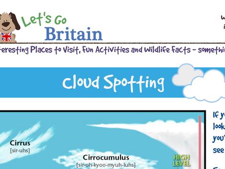 Cloud spotting.  Let's Go Britain.  Met Office.