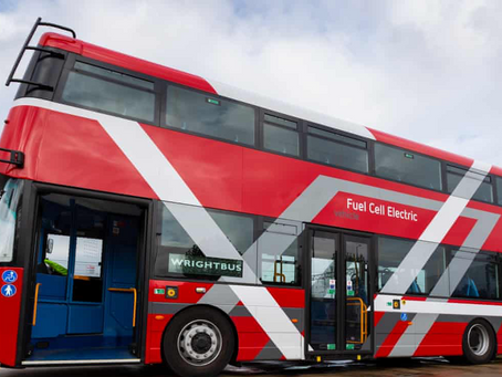 London to have world-first hydrogen-powered doubledecker buses.  The Guardian. 10 May 2019