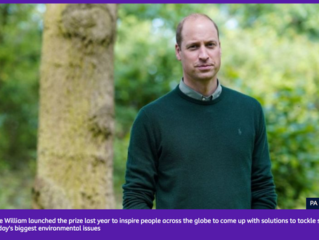 Earthshot Prize - Prince William will host a new series all about the environment. BBC Newsround.