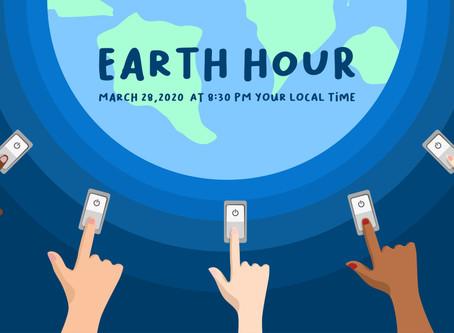 Earth Hour 2020 - Saturday 28th March - 8.30pm