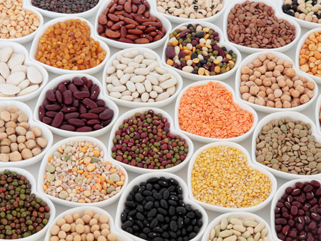It's time to raid the store cupboard!  Chickpeas, lentils, beans - are you feeling adventurous?