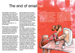 End of email fail