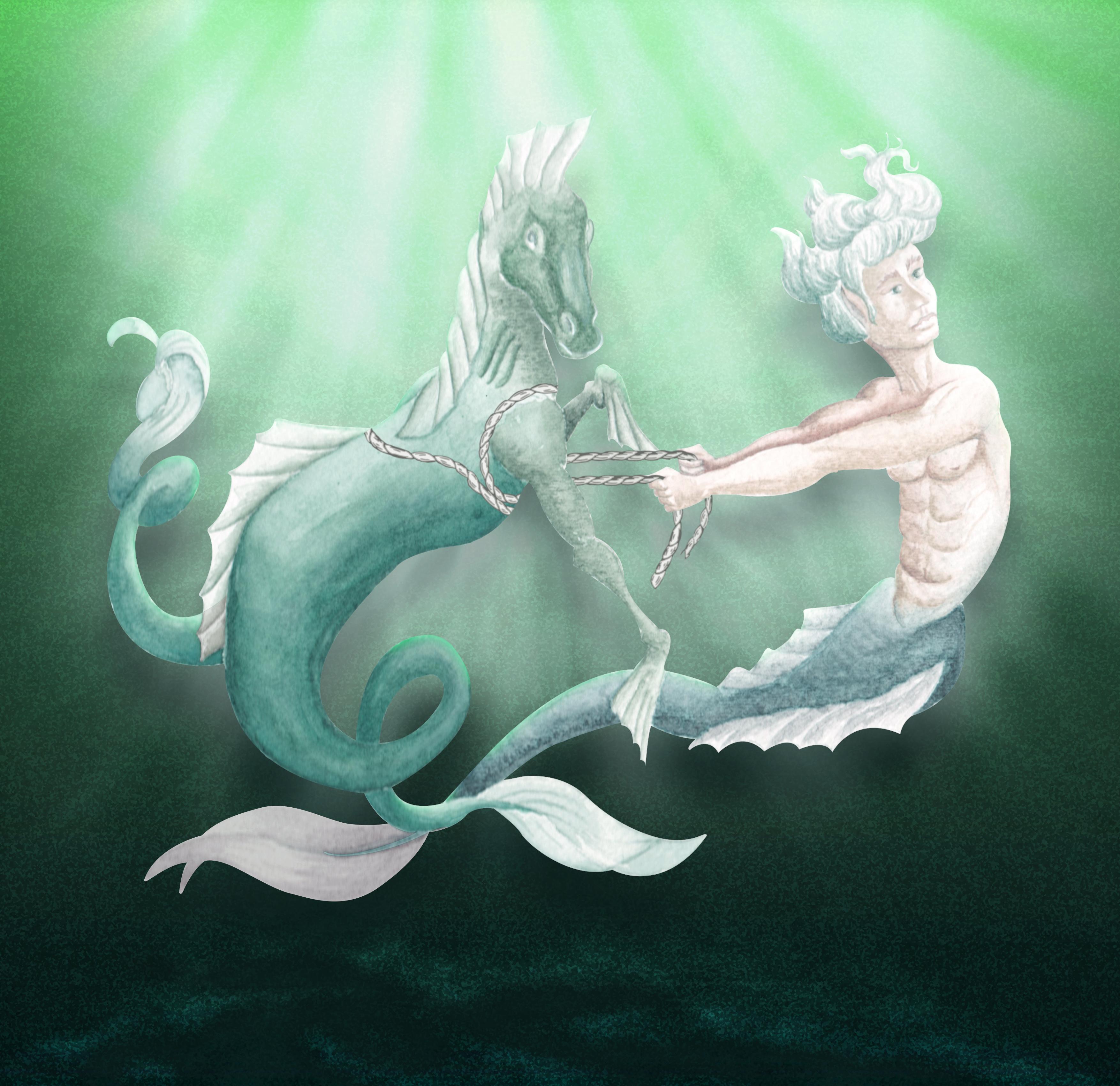 Merfolks, denizatının evcilleşmesi