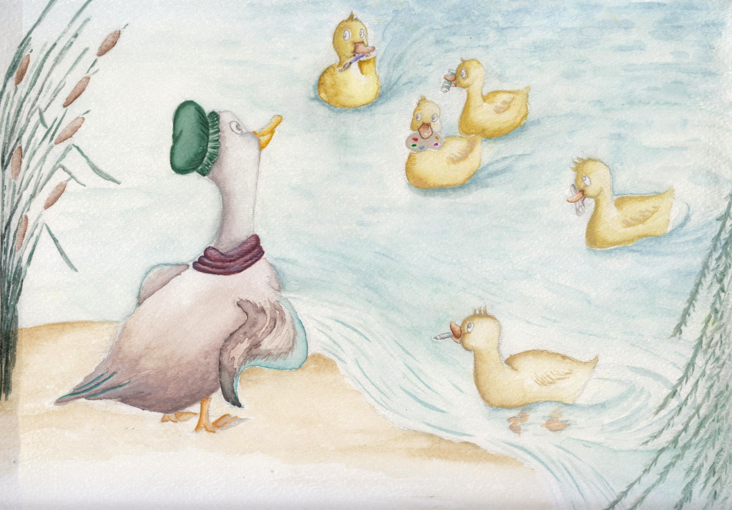 Five Little Ducks, revisited