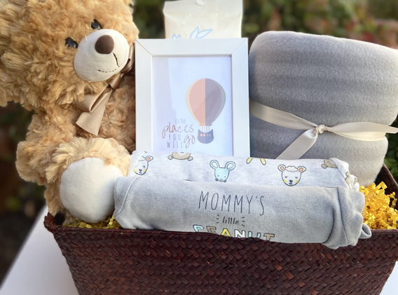 Neutral Baby Gift - See Shop for Purchas